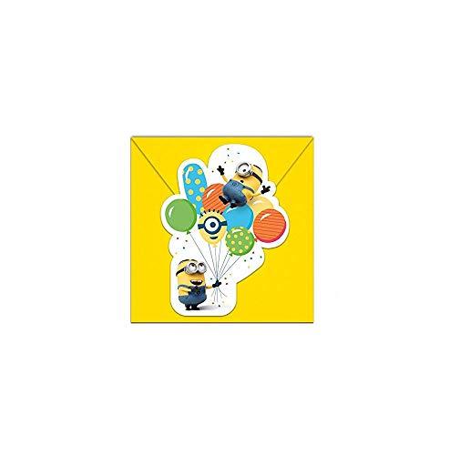 s Ballon Party Gestanzte Einladungskarten mit Umschlag ()