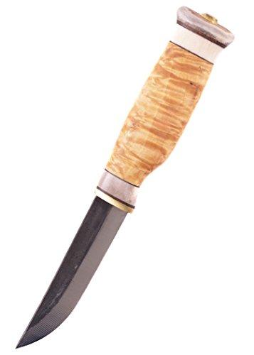 Finnenmesser - Wood-Jewel - 23VI Jagdmesser Vuolo Iso mit Scheide - Outdoor Messer