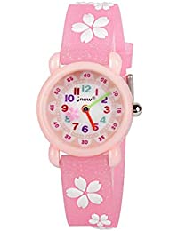 Toys Christmas Gift for 3-12 Year Old Girls Kid, CYMY Kids Wristwatch Waterproof Watch Toy for 3-12 Year Old Girl Age 3-12 Gift for Children Birthday