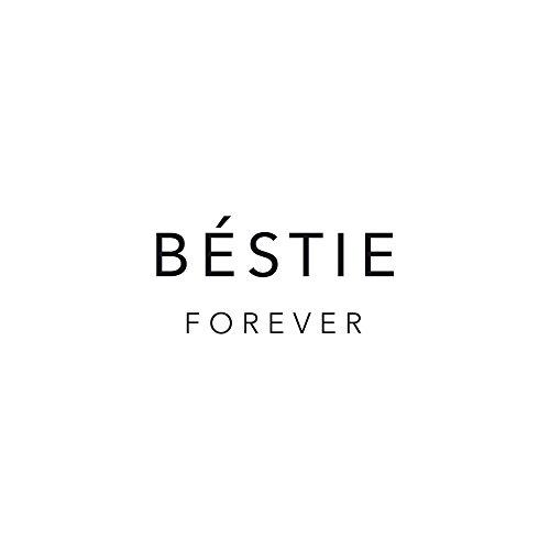 Apple iPhone SE Case Skin Sticker aus Vinyl-Folie Aufkleber Sprüche Freundschaft Luxus Bestie DesignSkins® glänzend