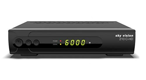 Unbekannt Sky-Vision 210 C-HD DVB-C Kabelreceiver SCART HDMI USB HDTV