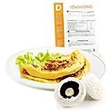 Minceur D - Omelette aux champignons hyperprotéinée - Pochette de 7 sachets MinceurD