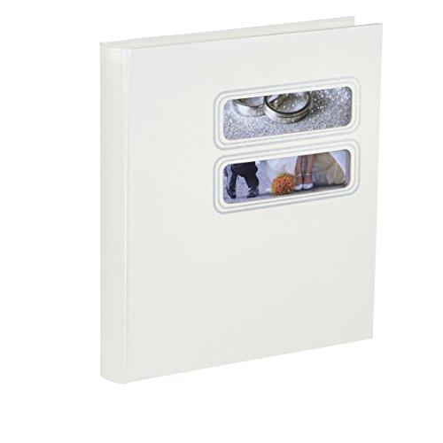 Hama Hochzeitsalbum Buchalbum Savona, 30x33 cm, 50 Seiten