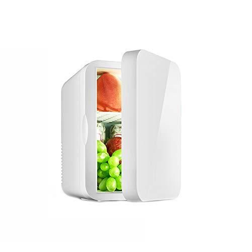 Yuany 6L Mini-Kühlschrank, niedriger Energieverbrauch Haushaltskühlschrank, umweltfreundliche Kühlung Kleiner,White,6L