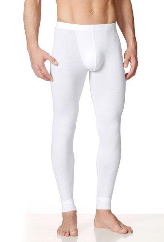 Calida Herren Sport Unterhose lang Evolution Weiß - Weiß