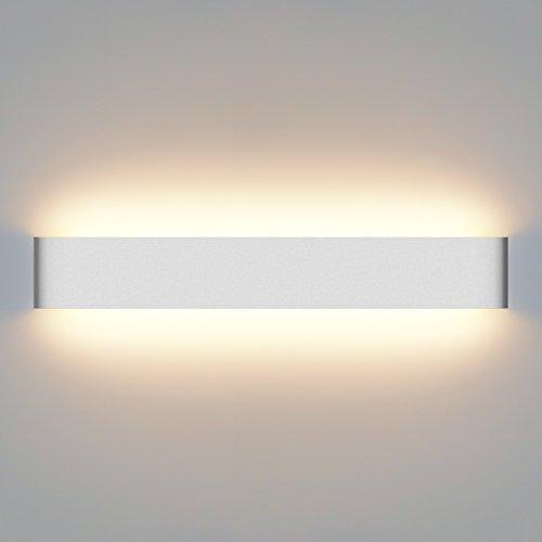 Yissvic Wandleuchte spiegelleuchte 20W LED Wandlampe Badlampe Wasserdicht IP44 Warmweiß (Verpackung MEHRWEG)