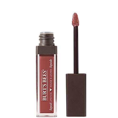 Burt's Bees Liquid Lipstick, 100% Natürliche Pflege mit intensiver Farbe, Tidal Taupe - 1 Tube,...