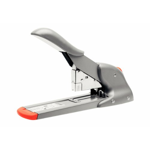 Esselte Leitz Blockheftgerät HD110, Stahl, 110 Blatt, silber/orange