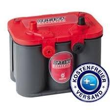 OPTIMA® RedTop® BATTERIE 12V 50AH OPTIMA REDTOP U 4.2 - 151.01.97 - ideal geeignet für Tuning-Fahrzeuge, Lkws, Geländewagen / Offroader aber auch Landmaschinen, Baumaschinen, Camping- / Caravanmobile, Einsatzfahrzeuge sowie Generatoren. - Absolut Wartungsfrei - gesetzlichem Batteriepfand (EUR7,50)!