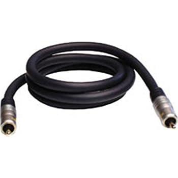 Profigold PGD481CI 1m RCA RCA Negro - Cable coaxial (RCA, RCA, Oro,