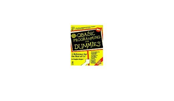 Qbasic programming for dummies amazon douglas books fandeluxe Image collections