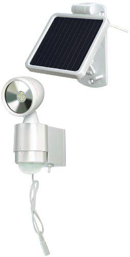 Brennenstuhl 1170940 Lampe LED-Spot Solaire IP44 blanc