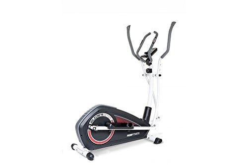 Flow Fitness Glider DCT125 Cross Trainer - Black/White/Red