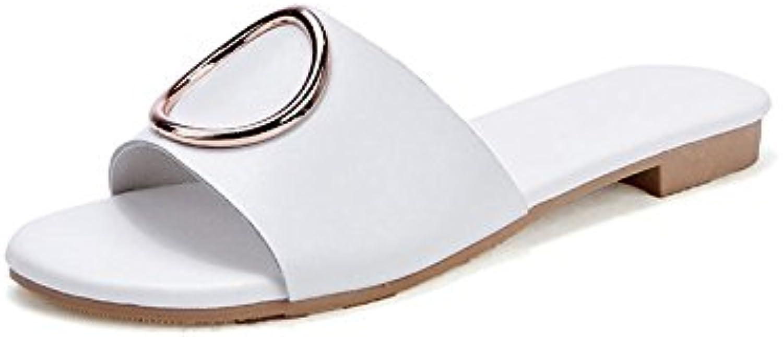 OME&QIUMEI Sandalen Sandalen Damen Slacker Schuhe Und Hausschuhe Vor Dem Meer