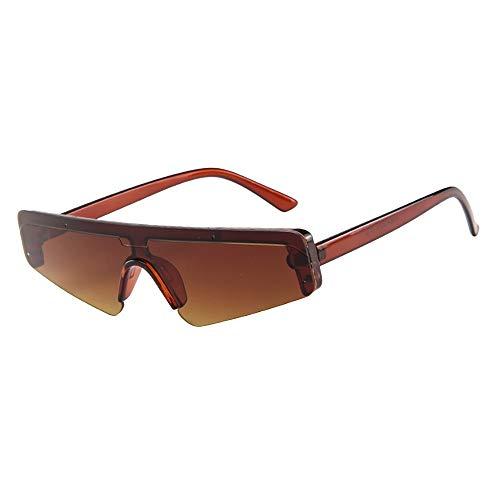 Battnot☀ Siamesische Sonnenbrillen für Damen Herren, Unregelmäßigen Rahmen Unisex Vintage Mode Anti-UV Gläser Schutzbrillen Männer Frauen Retro Billig Sunglasses Fashion Women Eyewear Eyeglasses