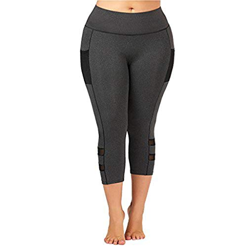 RISTHY Mallas Leggings Mujer Tallas Grandes 3/4 Pantalones