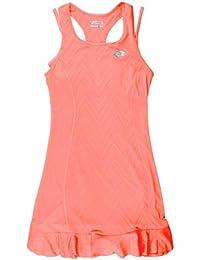 Lotto t5084 Vestido de Tenis Mujer, Mujer, Color Pink Néon Candy, tamaño FR