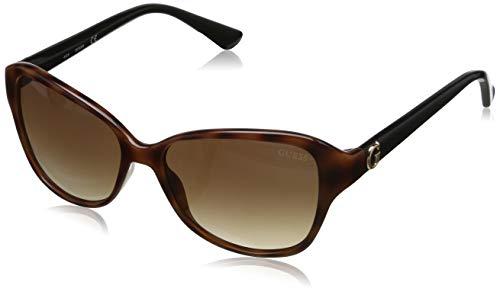 Guess Damen Sonnenbrille, Brown, 55