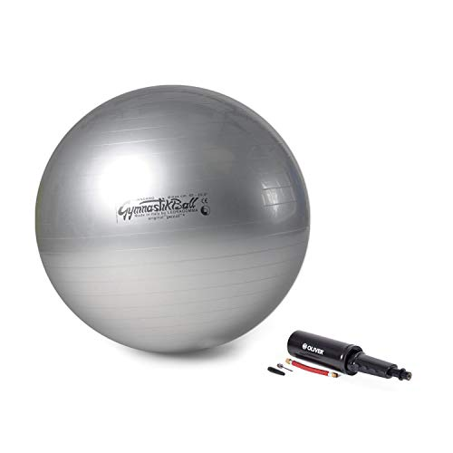 Original Pezzi Gymnastik Ball 65cm plus Pumpe Sitz Therapie Pilates anthra -