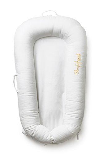 Preisvergleich Produktbild Enfant Terrible Design AB 150045749 Sleepyhead Deluxe Pod - Babybett/Reisebett, weiß, mehrfarbig