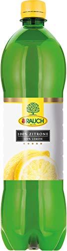 Rauch Zitronensaft 100 %, PET - 1L - 6x