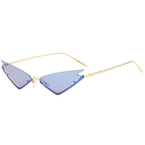 QinMM Frauen Männer Vintage Retro Kleine Rahmen Brillen Unisex Sonnenbrillen Eyewear Modelle wählbar Sonnenbrille Sport Style