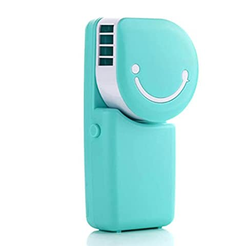 SZXC Mini Desktop Portable Bladeless Fan - No Leaf USB Air Conditioner Fan - 360 degrés Mute Petits ventilateurs - ON / OFF Switch , days