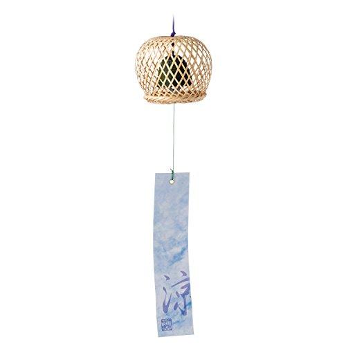 Panier en Bambou Carillon Eolien Japonais