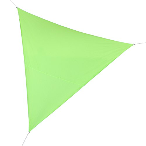 Voile dombrage triangulaire verte 3,6 m