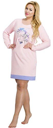 Merry Style Damen Nachthemd 2015 Rosa-2A