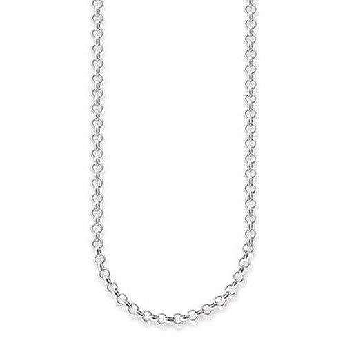 Thomas Sabo Damen-Kette Erbskette 925 Sterling Silber X0001-001-12-L80