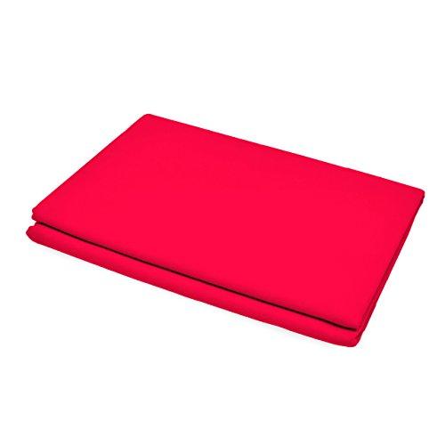 Lumaland Mikrofaser Badetuch Extra saugfähig verschiedene Farben und Größen 80x150cm Rot