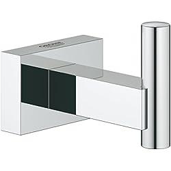 GROHE Patère Murale Essentials Cube, chromé, 40511001 (Import Allemagne)