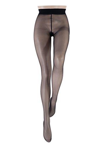 Le Bourget 1G5 - Collants - 15 Den - Femme - Noir - FR: 44 (Taille fabricant: 5)