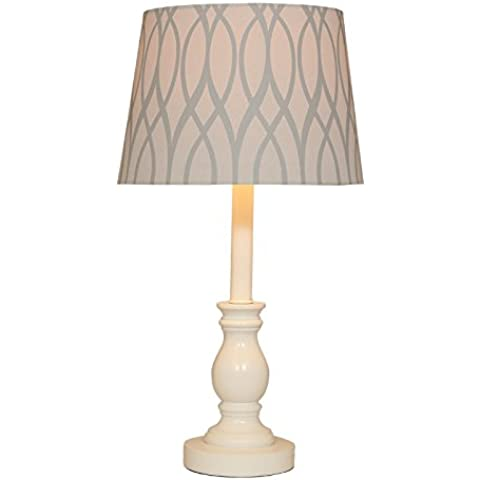 YUENLONG Lampada da comodino retrò americano stile europeo lampada letto camera da letto moderna semplice studio studiare lampada da tavolo occhio lampada altezza 48 cm * larghezza 20cm,Fiori dell'albero di fuoco