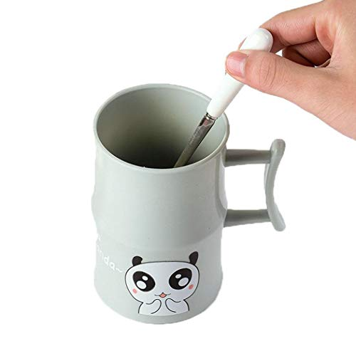 Sisaki Animal Print Brushing Cup Wasser Kaffee Milch Saft Becher Badezimmer Badezimmer - Animal-print Becher Kaffee