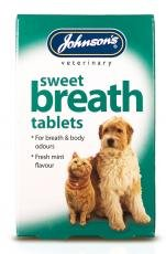 Johnsons Sweet Breath Tablets 30g - Bulk Deal of 6x