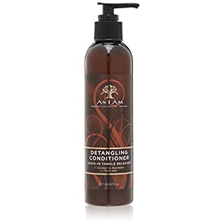 As I Am Detangling Conditioner Leave-In Tangle Releaser 237ml/8 fl. oz.