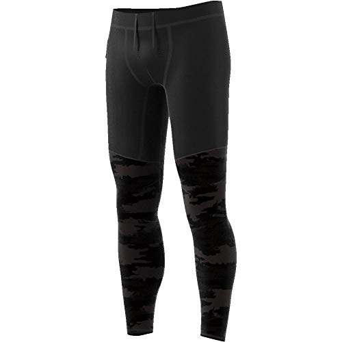 adidas Supernova TKO Graphic Tight Herren, Carbon/Black, M -