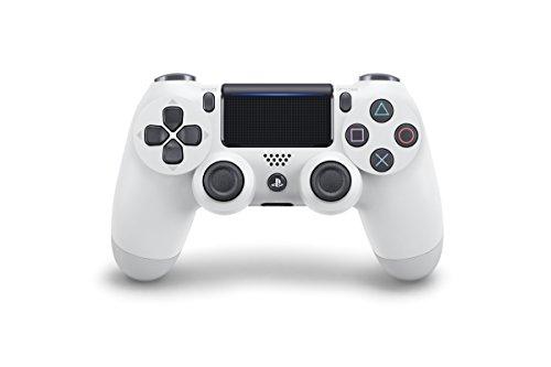 Manette Dual Shock V2 pour PS4 - blanc glacier