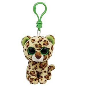 TY Beanie Boo Key Clip Leopard Speckles