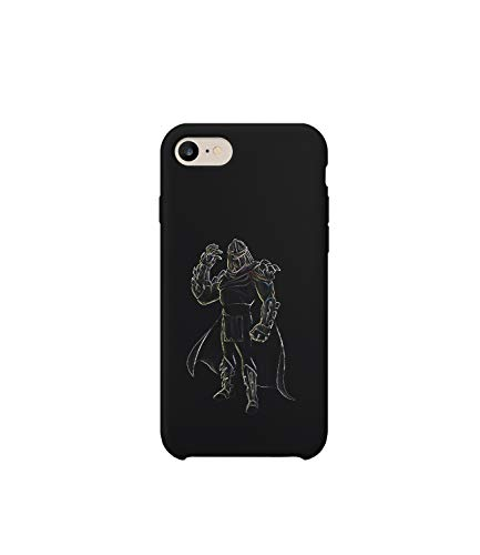 GlamourLab Mortal Kombat Shredder Flawless Ninja Turtles TMNT Fighter_R5721 Protective Case Cover Hard Plastic Compatible with for iPhone 6 Funny Gift Christmas Birthday Novelty (Shredder Tmnt Hoodie)