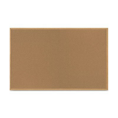 Value Cork Bulletin Board with Oak Frame, 48 x 72, Natural, Sold as 1 Each by MasterVision