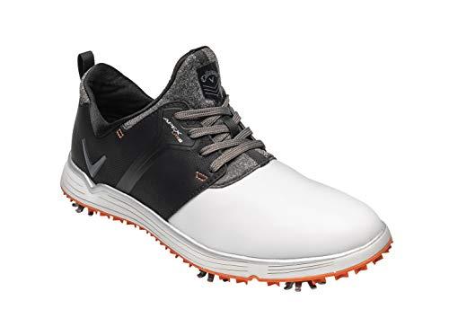 Callaway Apex Pro, Zapatillas de Golf para Hombre, Blanco/Azul Marino 22, 39 EU