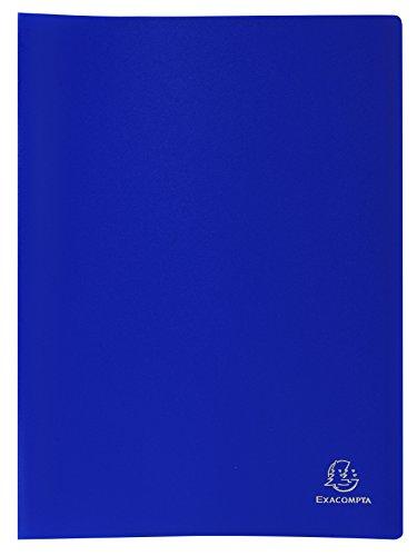 Exacompta - 85102E - Opaque Porte-Vues avec Pochettes Grainées - A4 - Bleu