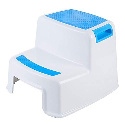 Kinder Kletterhocker aus Kunststoff, rutschfeste Handwasch-Pad Hocker Baby kleine Bank Badezimmer Hocker