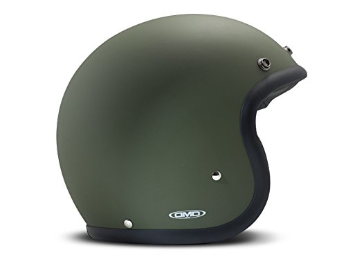 DMD Casco Moto, Unisex, Verde, M