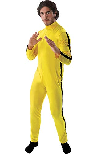 Gelb Kostüm Bruce Lee - ORION COSTUMES Adult Martial Artist Costume