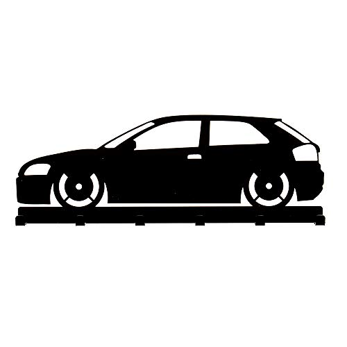 Schlüsselbrett Audi A3 8P in schwarz