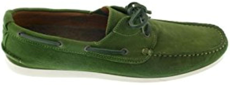 etiem Nautico Piel Verde  Zapatos de moda en línea Obtenga el mejor descuento de venta caliente-Descuento más grande